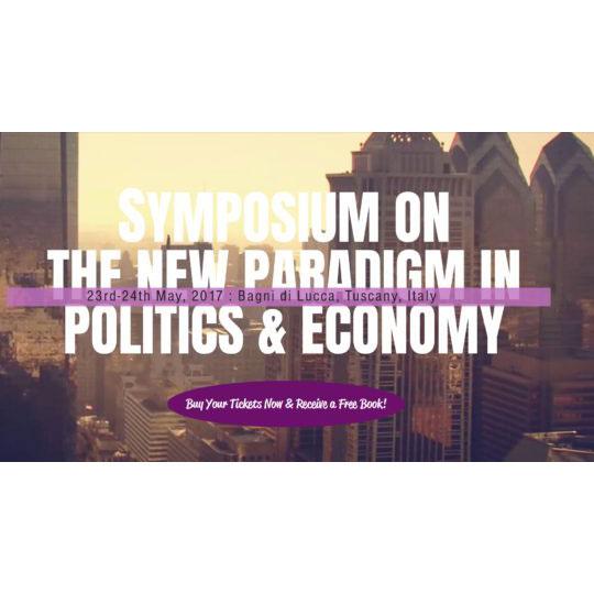 A New Paradigm in Politics & Economy: Roy Whitten speaking at Laszlo Institute Symposium in Italy