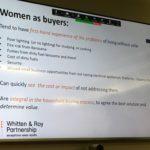 London presentation of Ashden study on women and gender